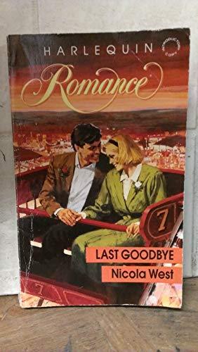 9780373031689: Last Goodbye (Harlequin Romance series, No. 3168)