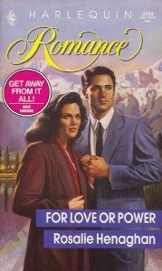 9780373031948: For Love Or Power (Harlequin Romance)
