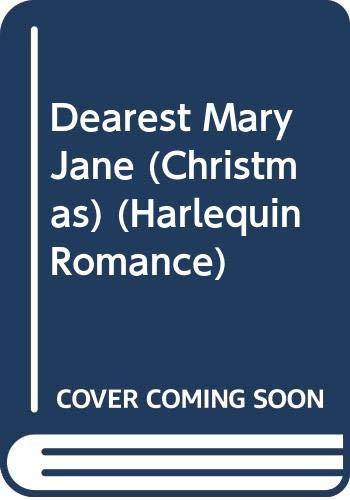 9780373034352: Dearest Mary Jane (Christmas)