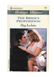 9780373036110: Bride's Proposition