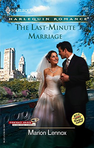 9780373038329: The Last-Minute Marriage