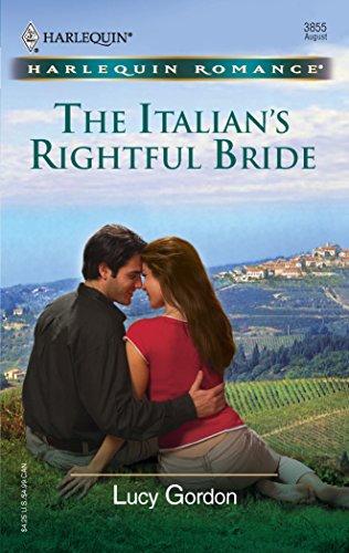 9780373038558: The Italian's Rightful Bride