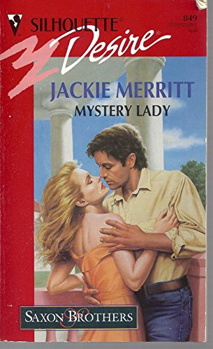 9780373058495: Mystery Lady (Silhouette Desire, No. 849)(Saxon Brothers)
