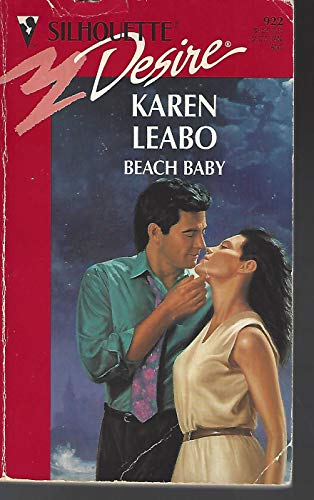 9780373059225: Beach Baby (Silhouette Desire)