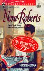 Hidden Star (The Stars Of Mithra) (Silhouette Intimate Moments, No. 811): Nora Roberts