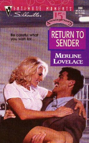 9780373078660: Return to Sender (Silhouette Intimate Moments #866)
