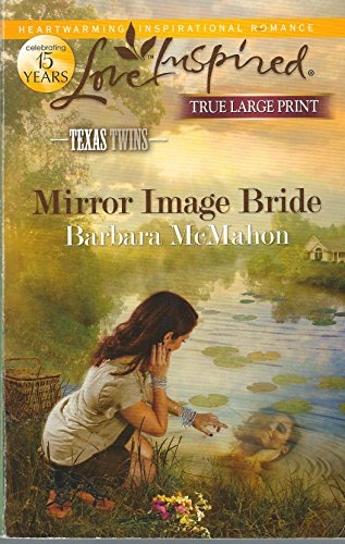 9780373082469: Mirror Image Bride (True Large Print) Texas Twins Series #2