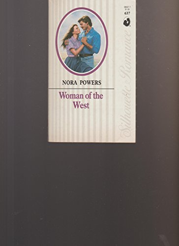 9780373086375: Woman Of The West (Silhouette Romance)