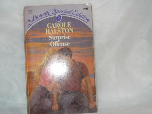 9780373092918: Surprise Offense (Silhouette Special Edition, No. 291)