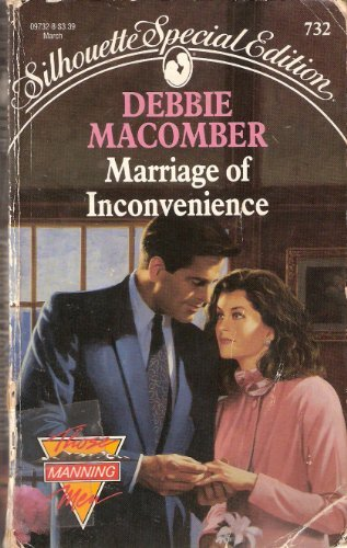 9780373097326: Marriage of Inconvenience (Those Manning Men #1) (Silhouette Special Edition #732)