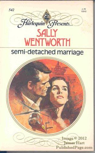 9780373105427: Semi Detached Marriage