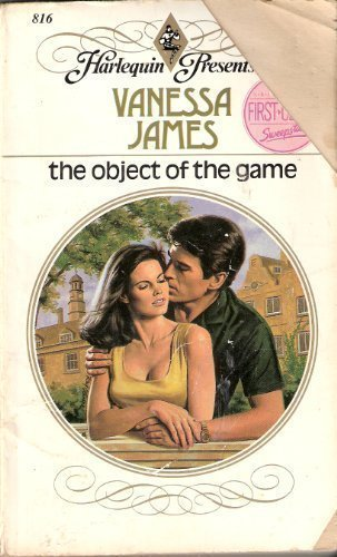 9780373108169: The Object Of The Game (Harlequin Presents, No 816)