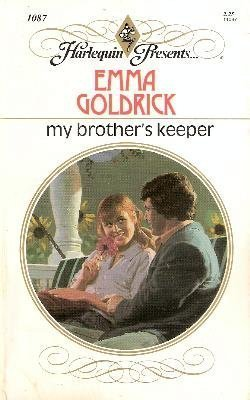 9780373110872: My Brother's Keeper (Harlequin Presents, No 1087)