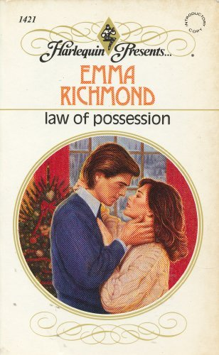 9780373114214: Law of Possession (Harlequin Presents No 1421