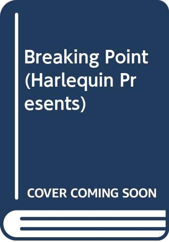 9780373114337: Breaking Point (Harlequin Presents)
