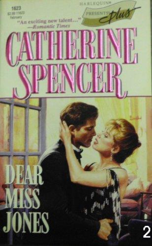 9780373116232: Dear Miss Jones (Presents Plus)