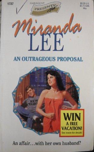 9780373117376: Outrageous Proposal