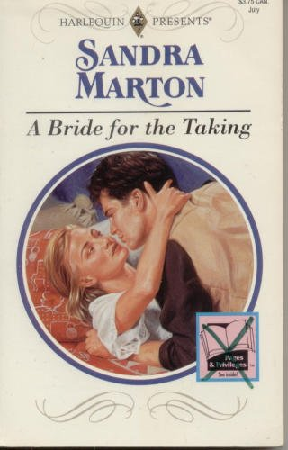 9780373117512: Bride For The Taking