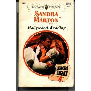9780373118199: Hollywood Wedding (Landon's Legacy) (Harlequin Presents #1819)