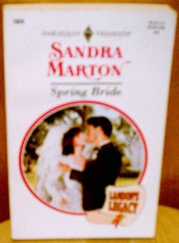 9780373118250: Spring Bride (Landon'S Legacy)