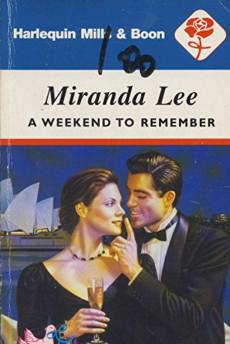 9780373118557: Weekend To Remember (Affairs To Remember)