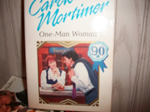 9780373118632: One - Man Woman (Top Author/90th Book Flash)