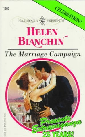 Marriage Campaign (0373119607) by Helen Bianchin