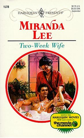 9780373119783: Two-Week Wife (Harlequin Presents, No. 1978)