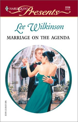 9780373122288: Marriage On The Agenda