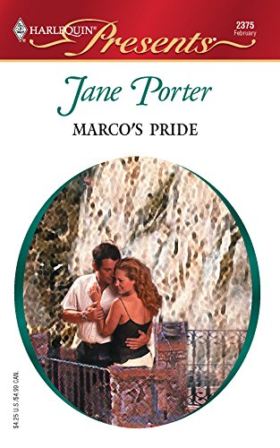 9780373123759: Marco's Pride (Harlequin Presents)