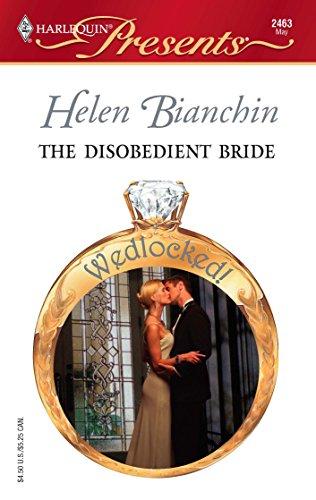9780373124633: The Disobedient Bride