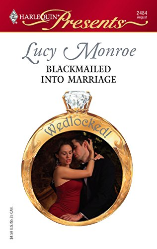 9780373124848: Blackmailed Into Marriage (Harlequin Presents)
