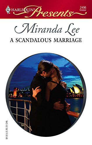 9780373124961: A Scandalous Marriage