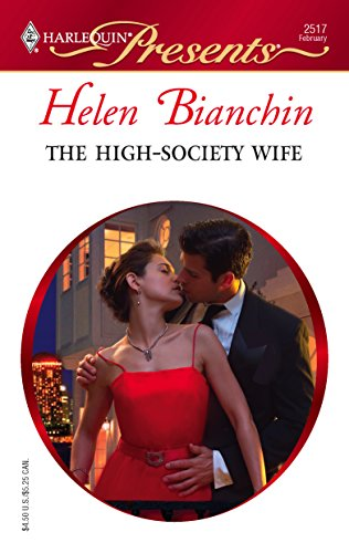 9780373125173: The High-Society Wife