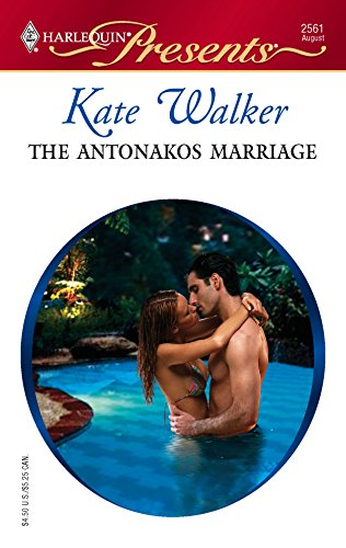 9780373125616: The Antonakos Marriage