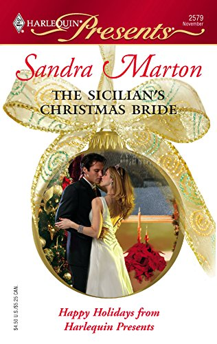 The Sicilian's Christmas Bride (0373125798) by Sandra Marton