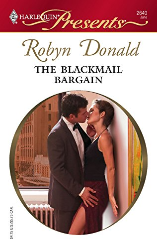 9780373126408: The Blackmail Bargain