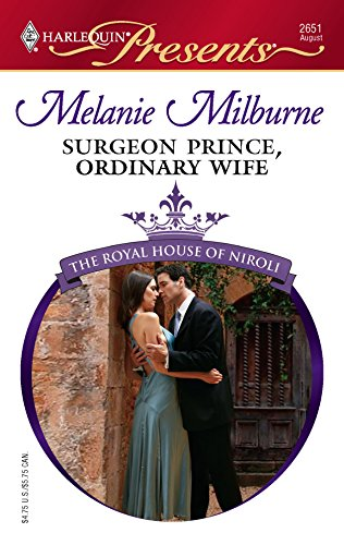 9780373126514: Surgeon Prince, Ordinary Wife (Harlequin Presents)