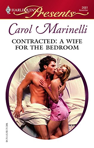 9780373126811: Contracted: A Wife For The Bedroom