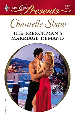 9780373126958: The Frenchman's Marriage Demand