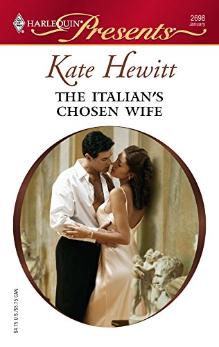 9780373126989: The Italian's Chosen Wife