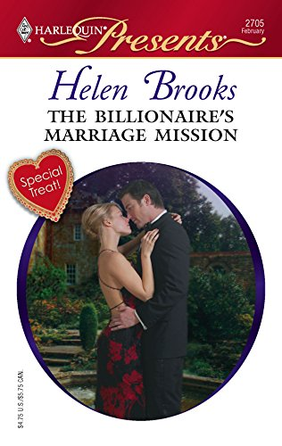 9780373127054: The Billionaire's Marriage Mission