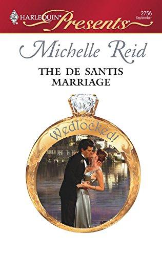 9780373127566: The De Santis Marriage
