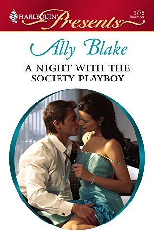 9780373127788: A Night With The Society Playboy