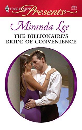 9780373128600: The Billionaire's Bride of Convenience
