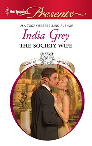 9780373129676: The Society Wife
