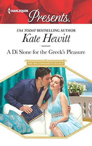 9780373134878: A Di Sione for the Greek's Pleasure (The Billionaire's Legacy)