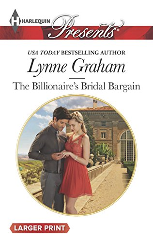 9780373138050: The Billionaire's Bridal Bargain (Bound by Gold)