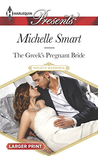 9780373138142: The Greek's Pregnant Bride (Society Weddings)