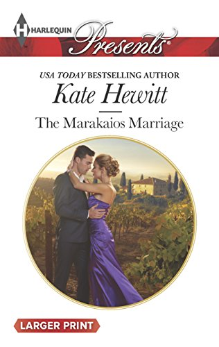 9780373138166: The Marakaios Marriage (The Marakaios Brides)